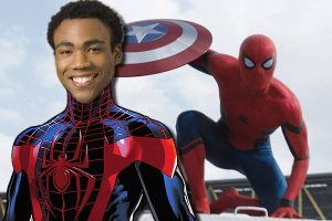 Donald Glover for Spiderman Image