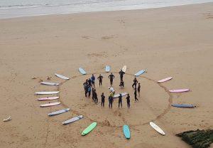 Surfing Circle