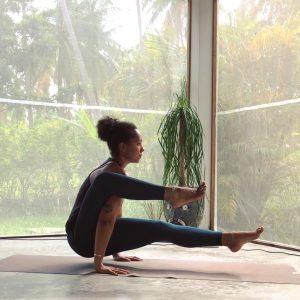 Nicole Yoga Pose Image 2