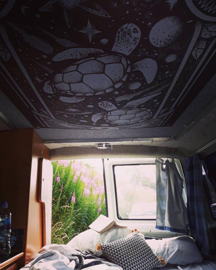 Van life Inside