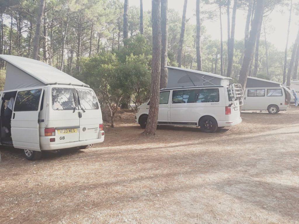 Van life VW fleet