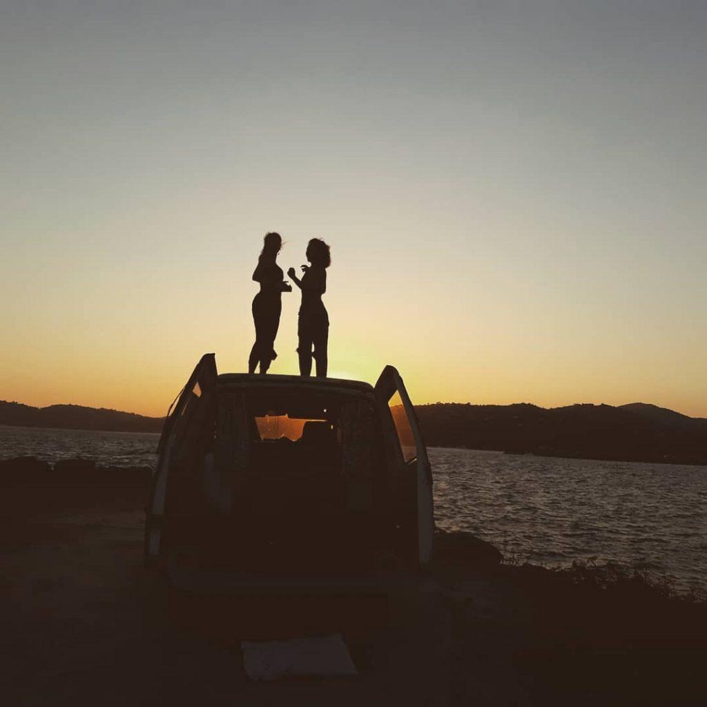 Van life Sunset Image