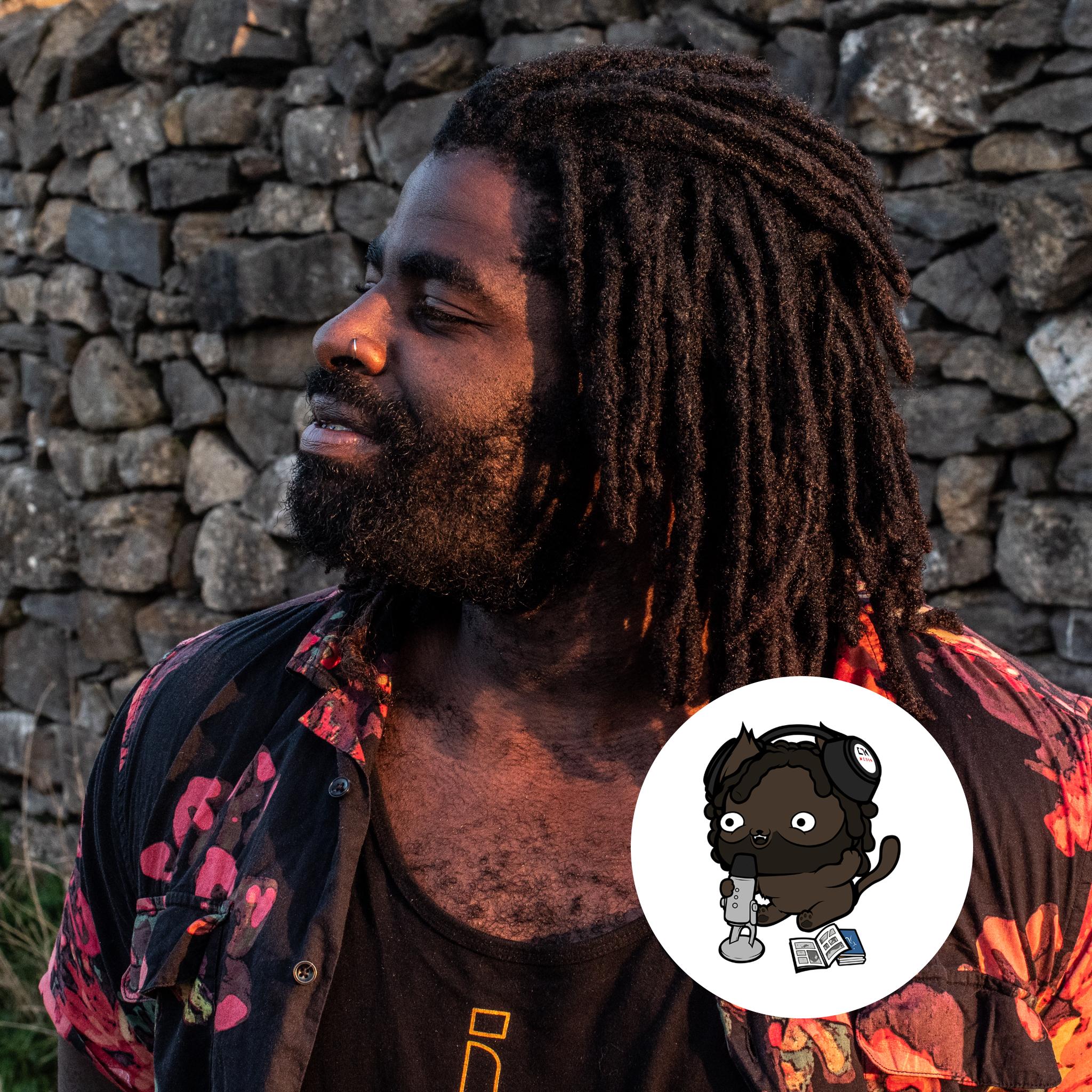Kofi Headshot With Kitten - 2019